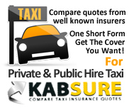 Private Hire Insurance Advert from Kabsure